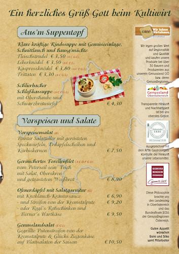 Schupfn_Speisenkarten